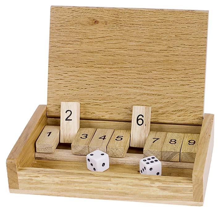 Cestovní hra - Shut the box