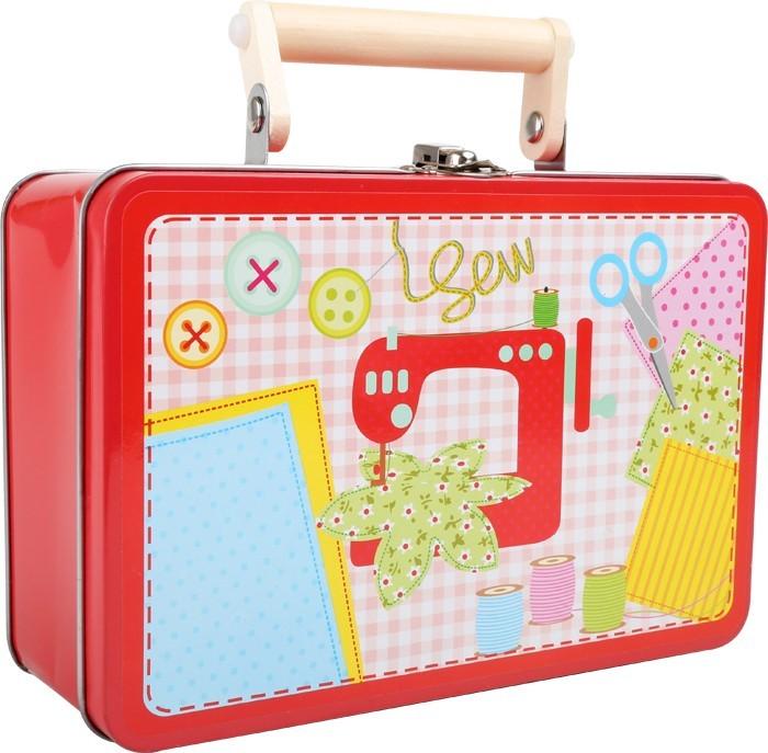 Dětský kufr - Šicí sada