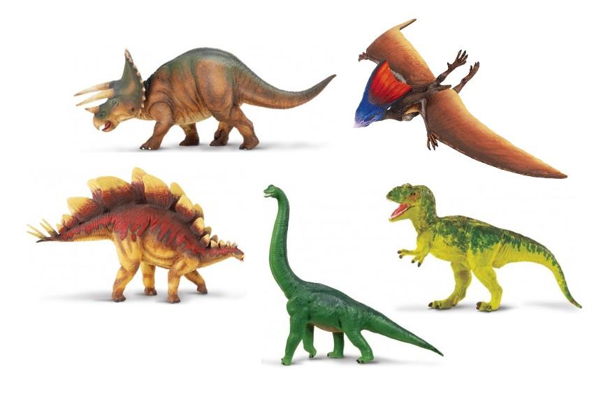 Dinosauři (5 ks)