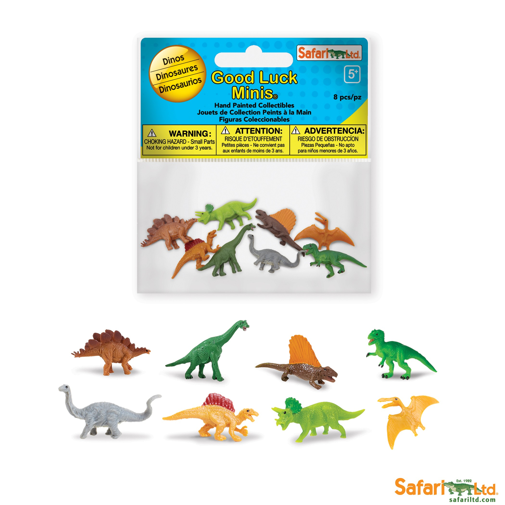 Dinosauři - Good Luck Minis Funpack