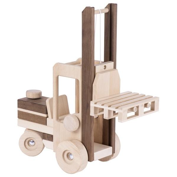 Dřevěný vysokozdvižný vozík