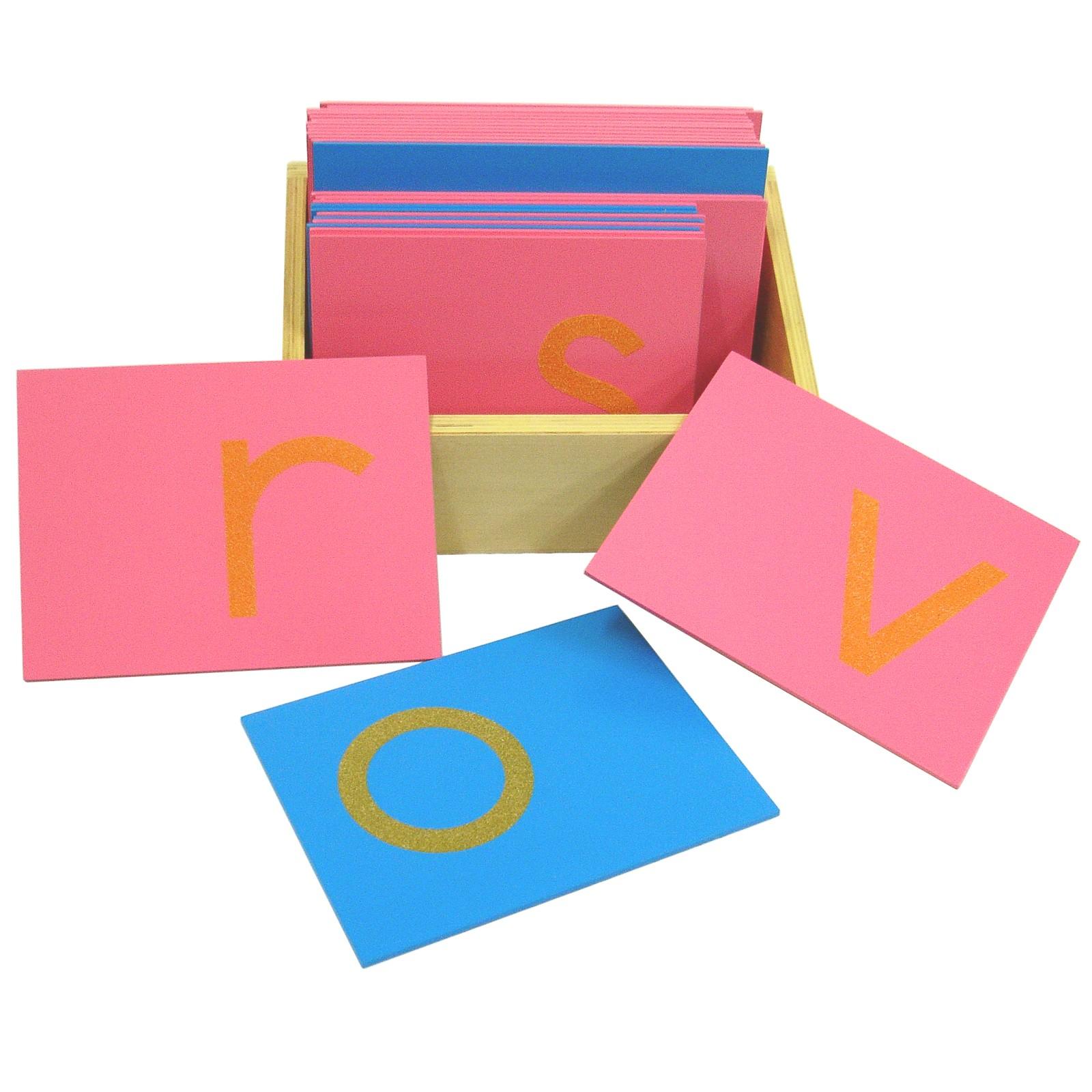 Hmatová písmena (tiskací písmo - malé - americká norma)