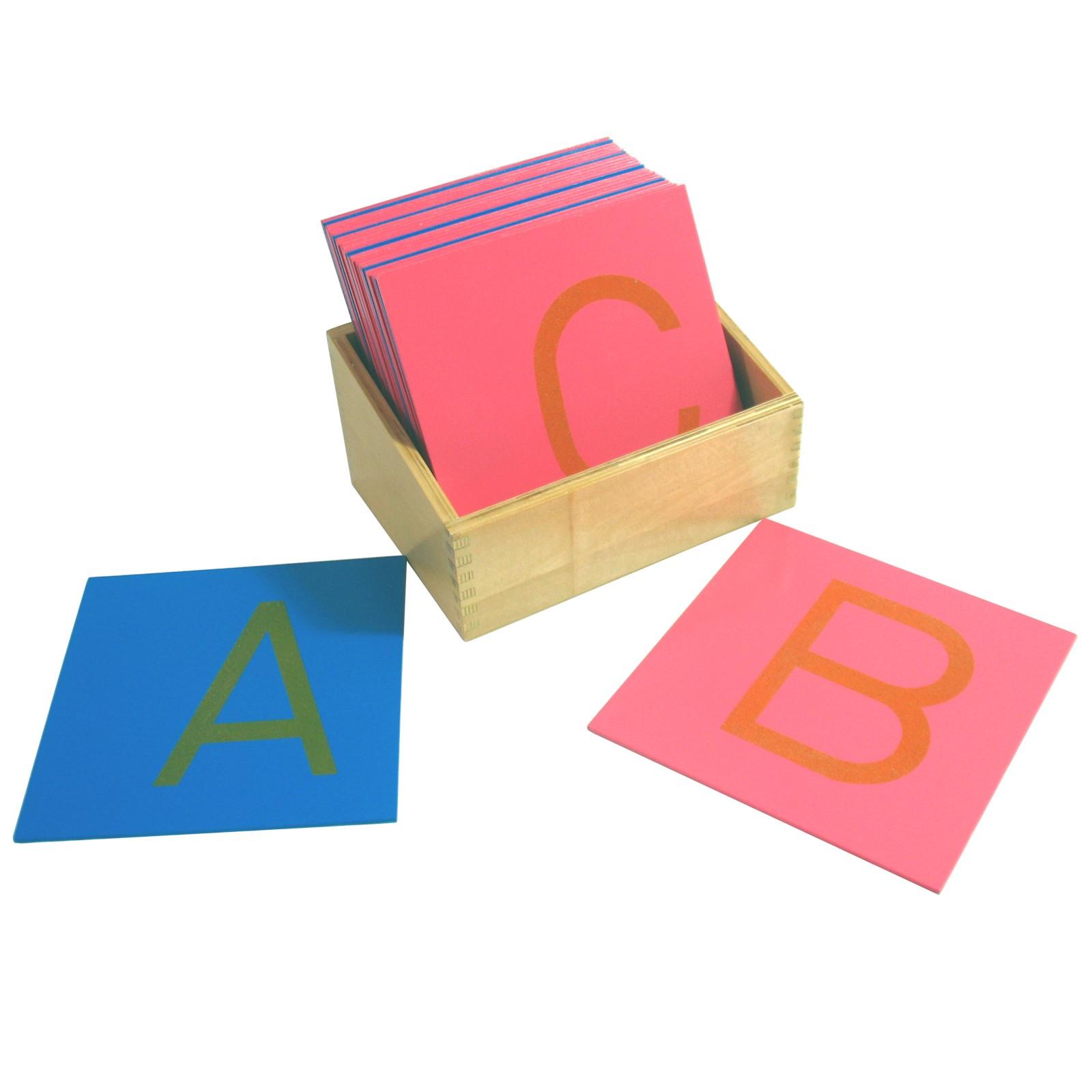 Hmatová písmena (tiskací písmo - velké - americká norma)
