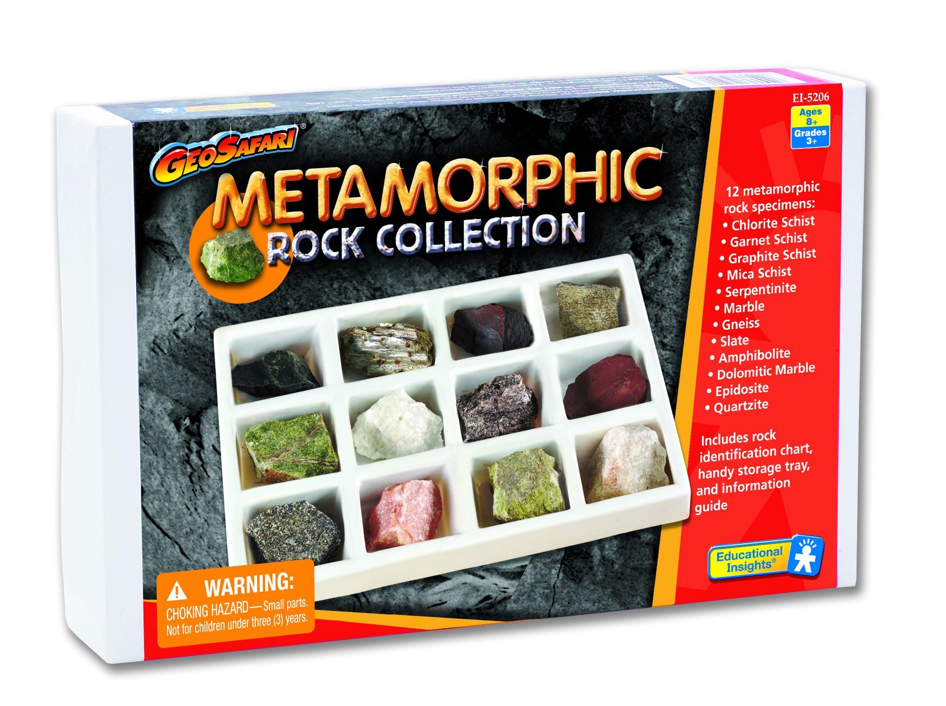 Kolekce metamorfovaných hornin