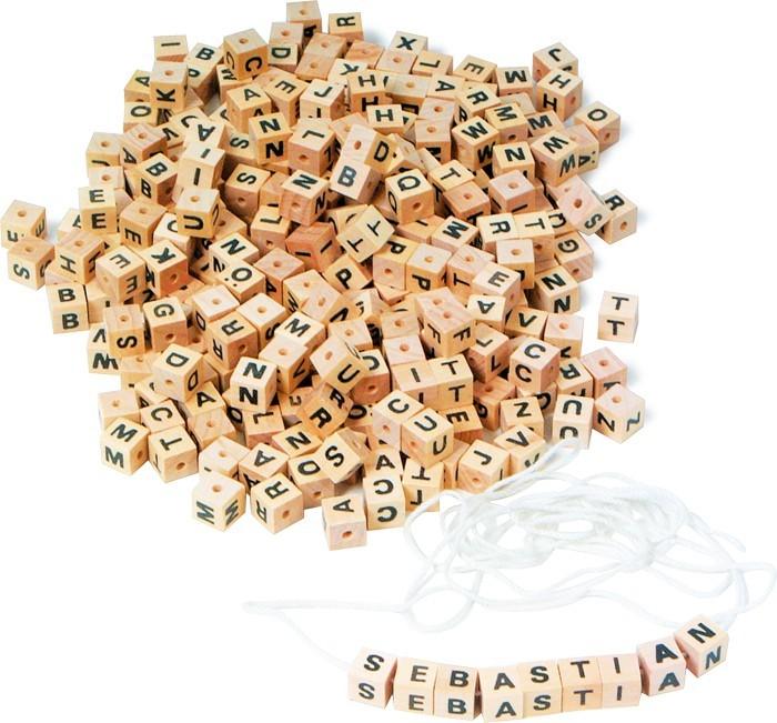 Půjčení: Kostky - písmenka