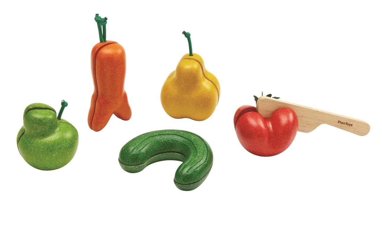 Křivé ovoce a zelenina