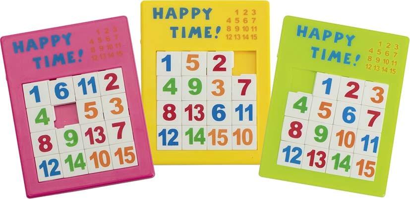 Logická hra – posunovací puzzle čísla