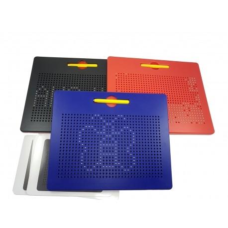Magnetická tabulka Magpad - Červená - BIG 714 kuliček