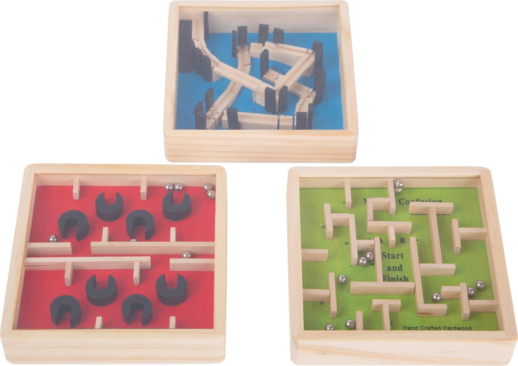 Malý dřevěný labyrint
