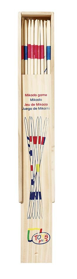 Mikádo v dřevěné krabičce, 28 cm