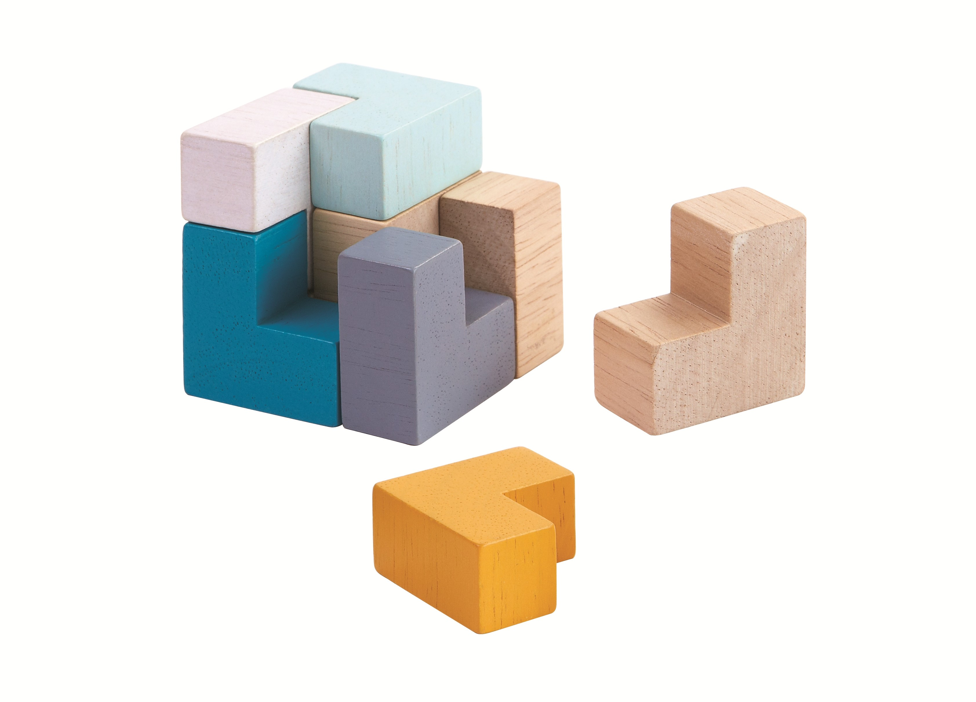Mini-3D Puzzle kostka
