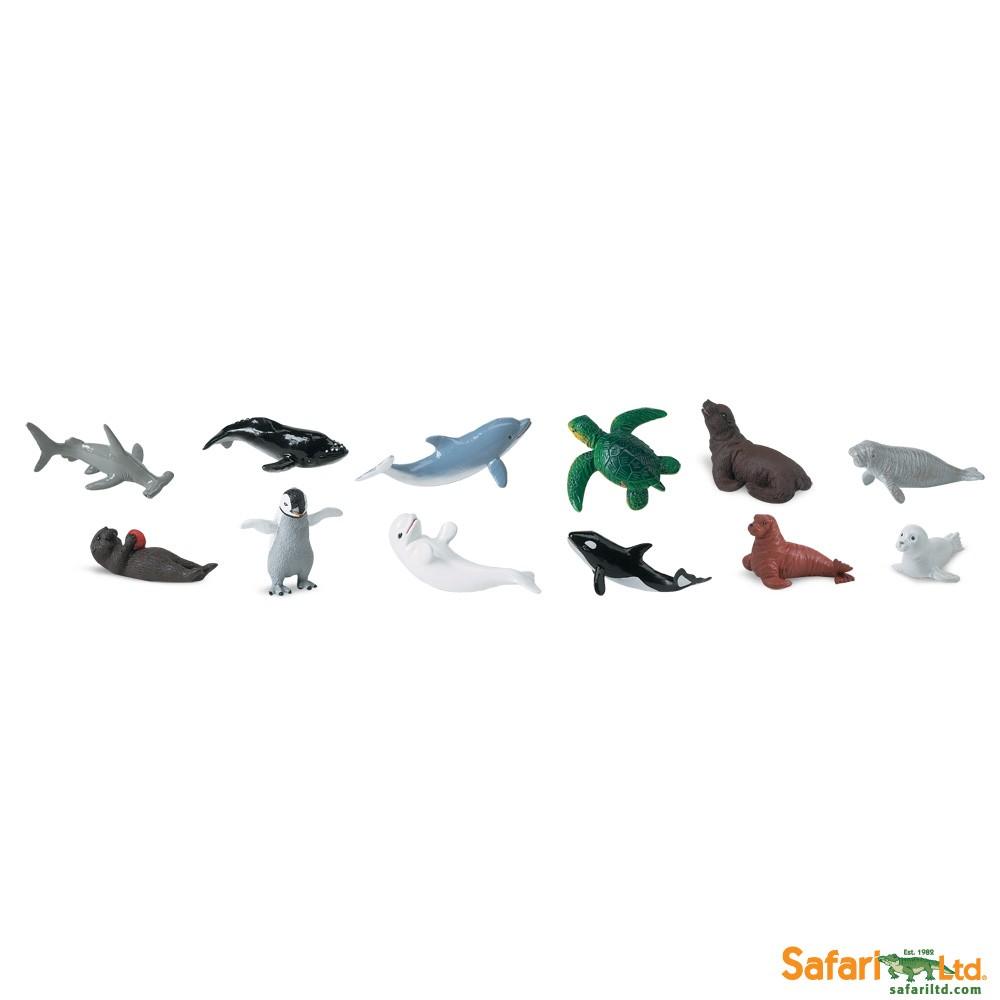Mláďata mořských živočichů