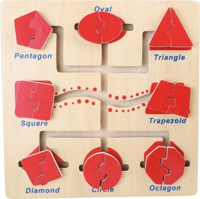 Motorický labyrint - tvary