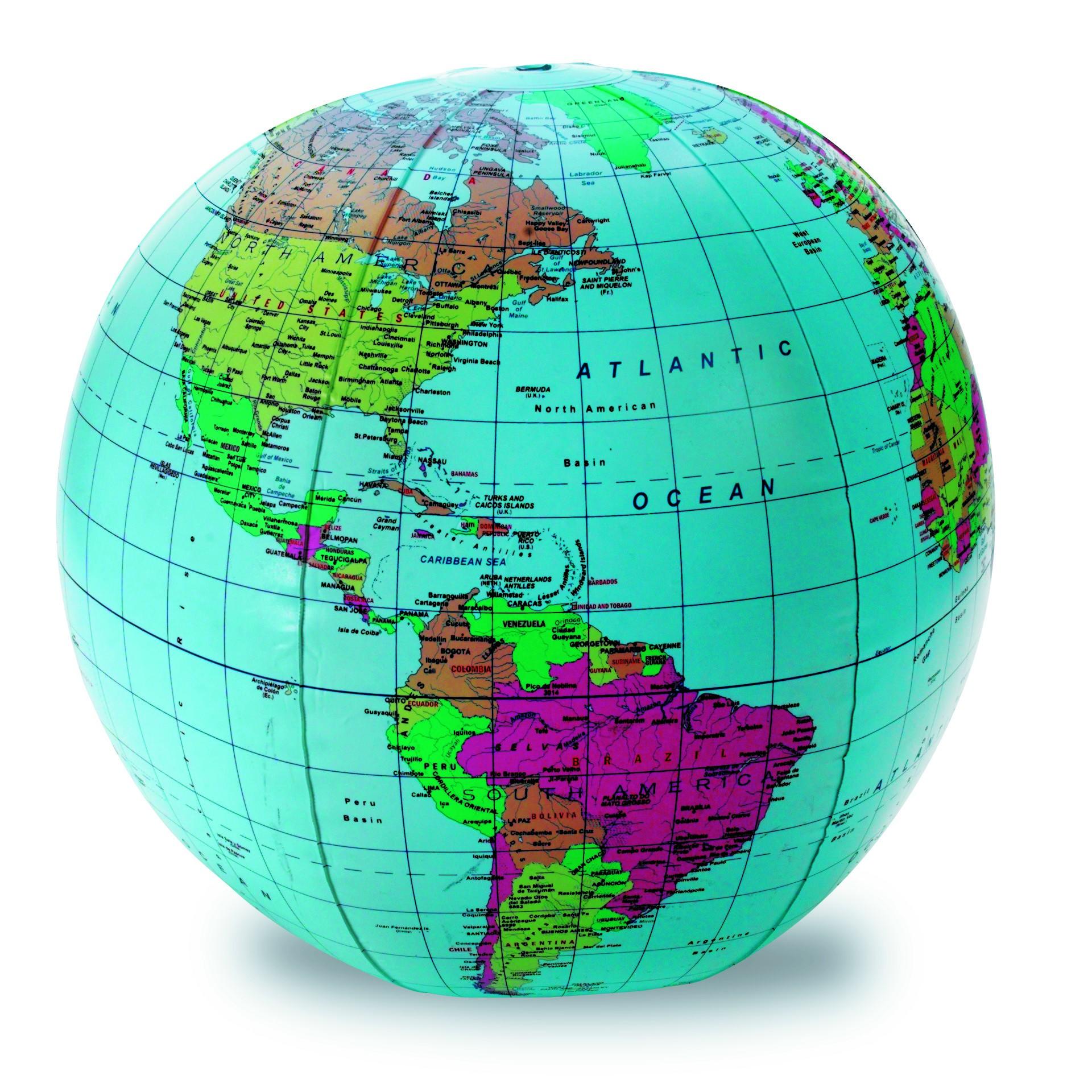 Nafukovací míč - svět