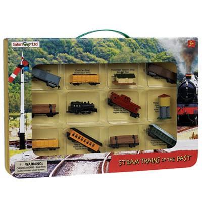 Parní vlak (v krabičce)