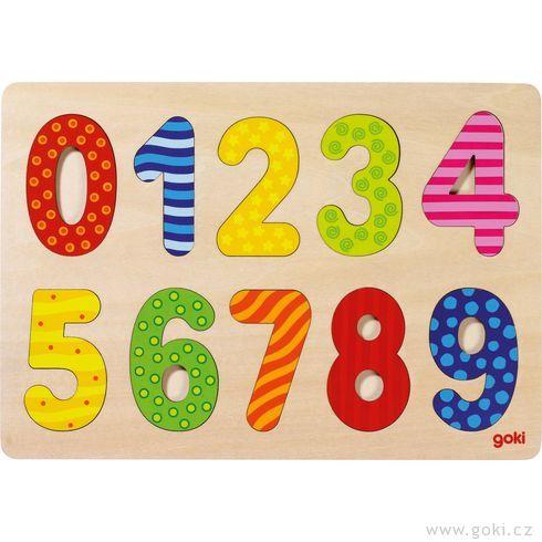 Puzzle - Číslice 0-9