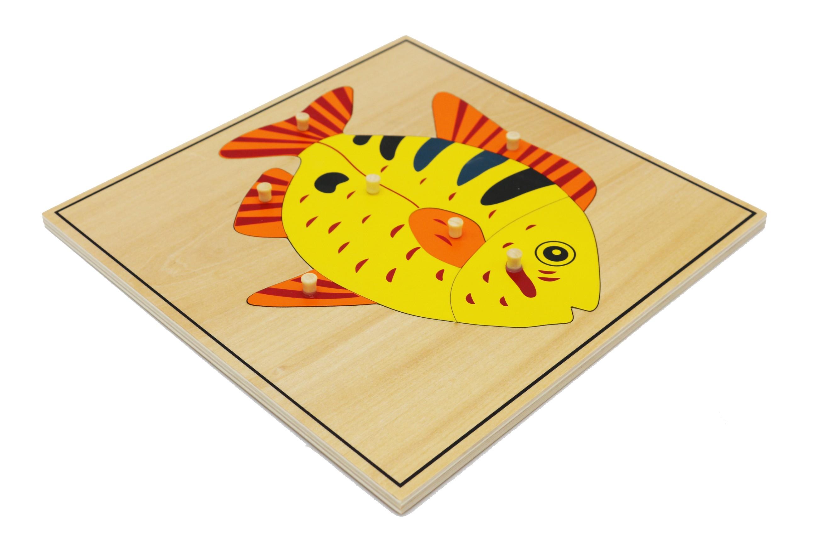 Puzzle - ryba