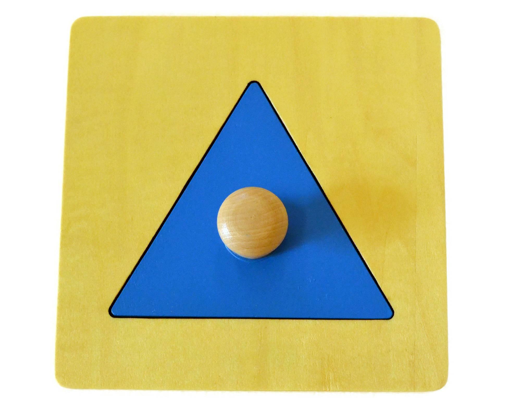 Puzzle - trojúhelník