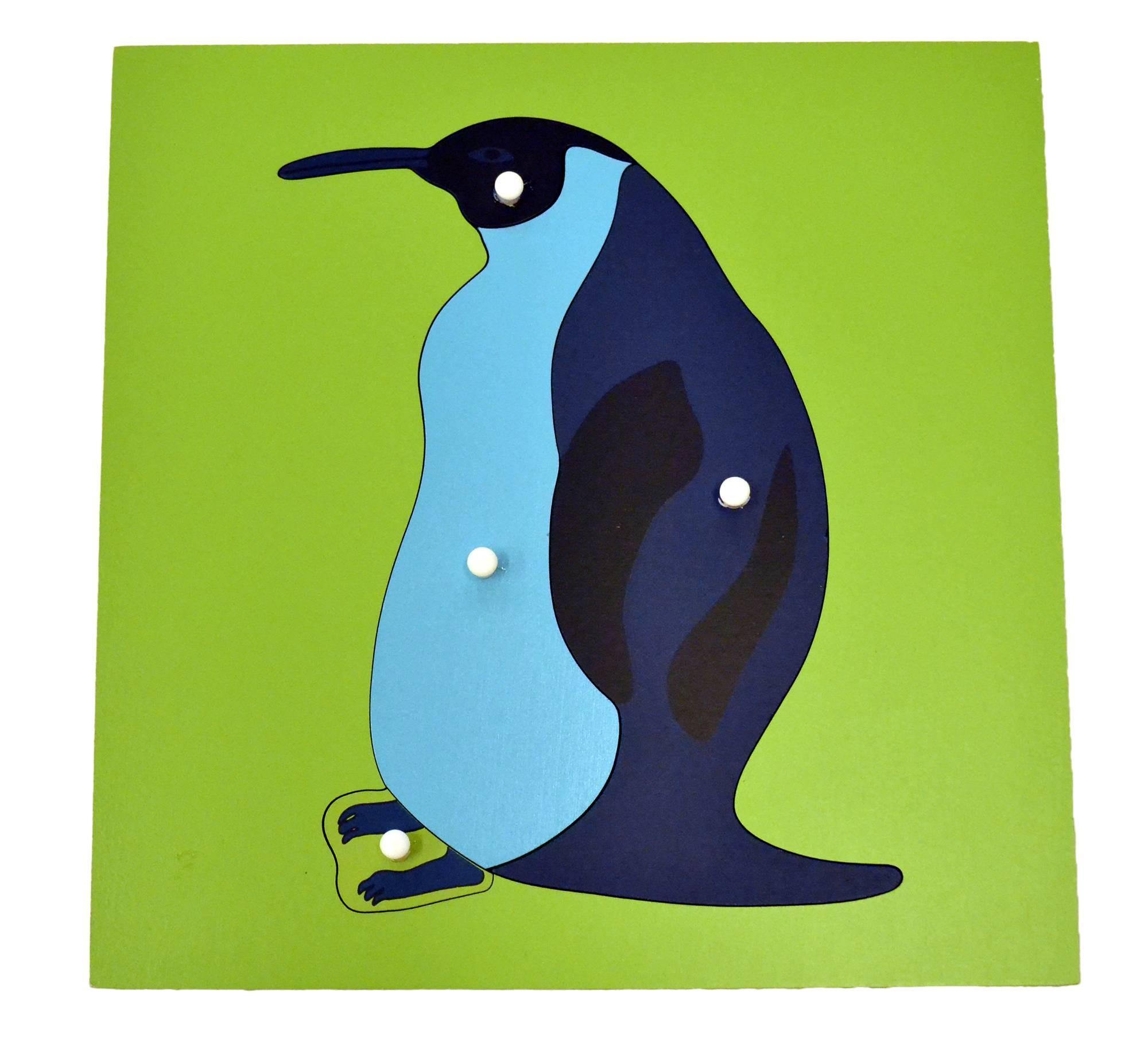Puzzle - tučňák