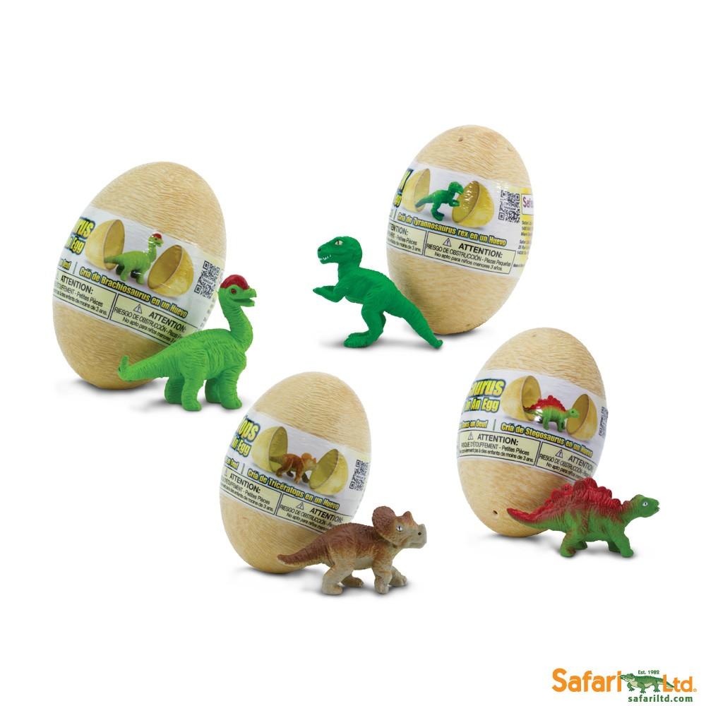 Set vajíček s dinosaury