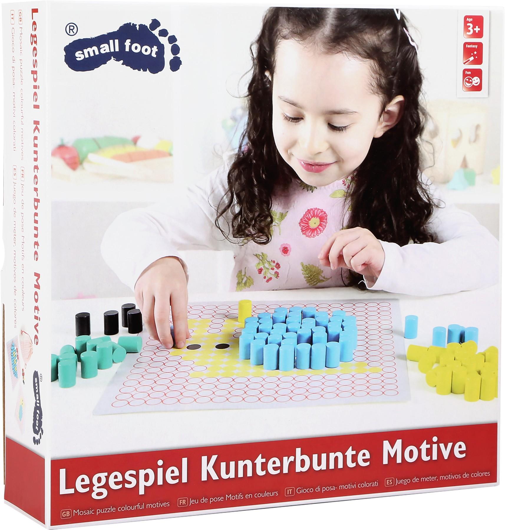 Skládací hra barevné motivy