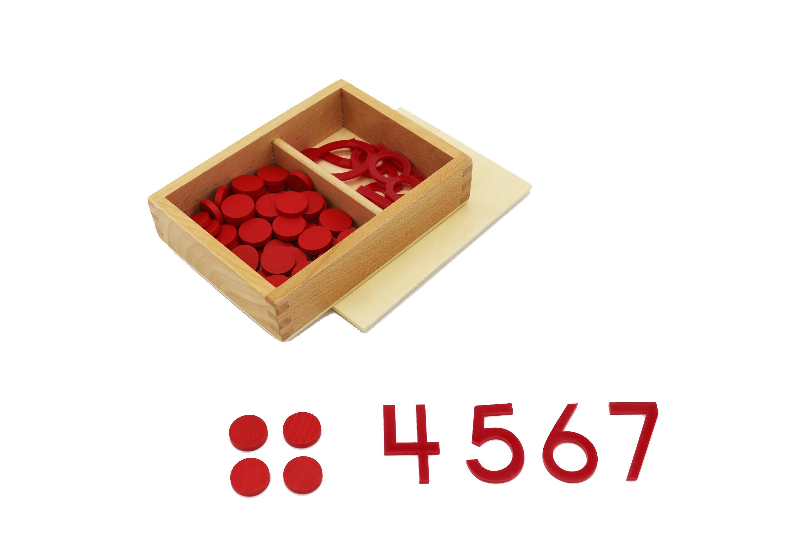 Číslice a žetony, Sudá-lichá