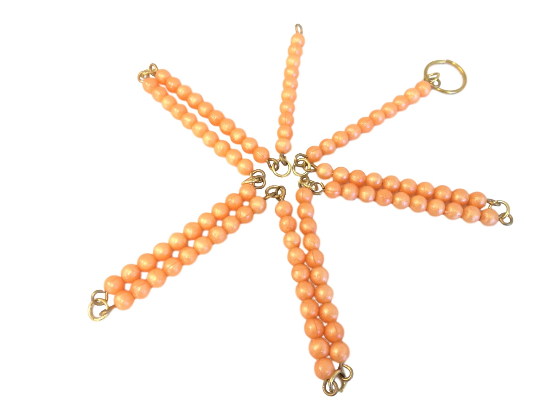 Stovkový perlový řetěz