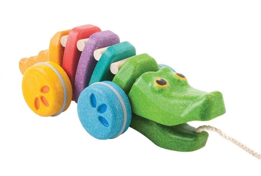 Tančící krokodýl - duhový