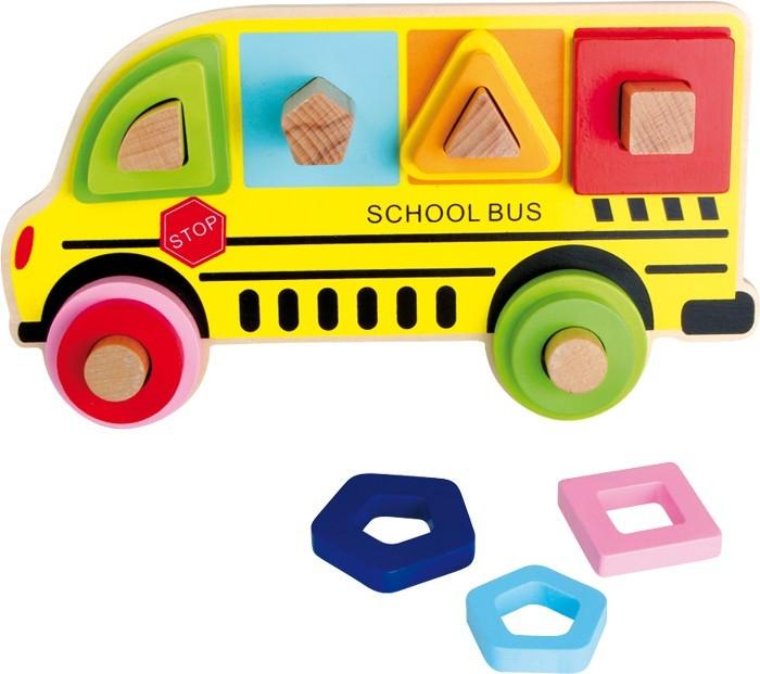 Třídící hra školní autobus