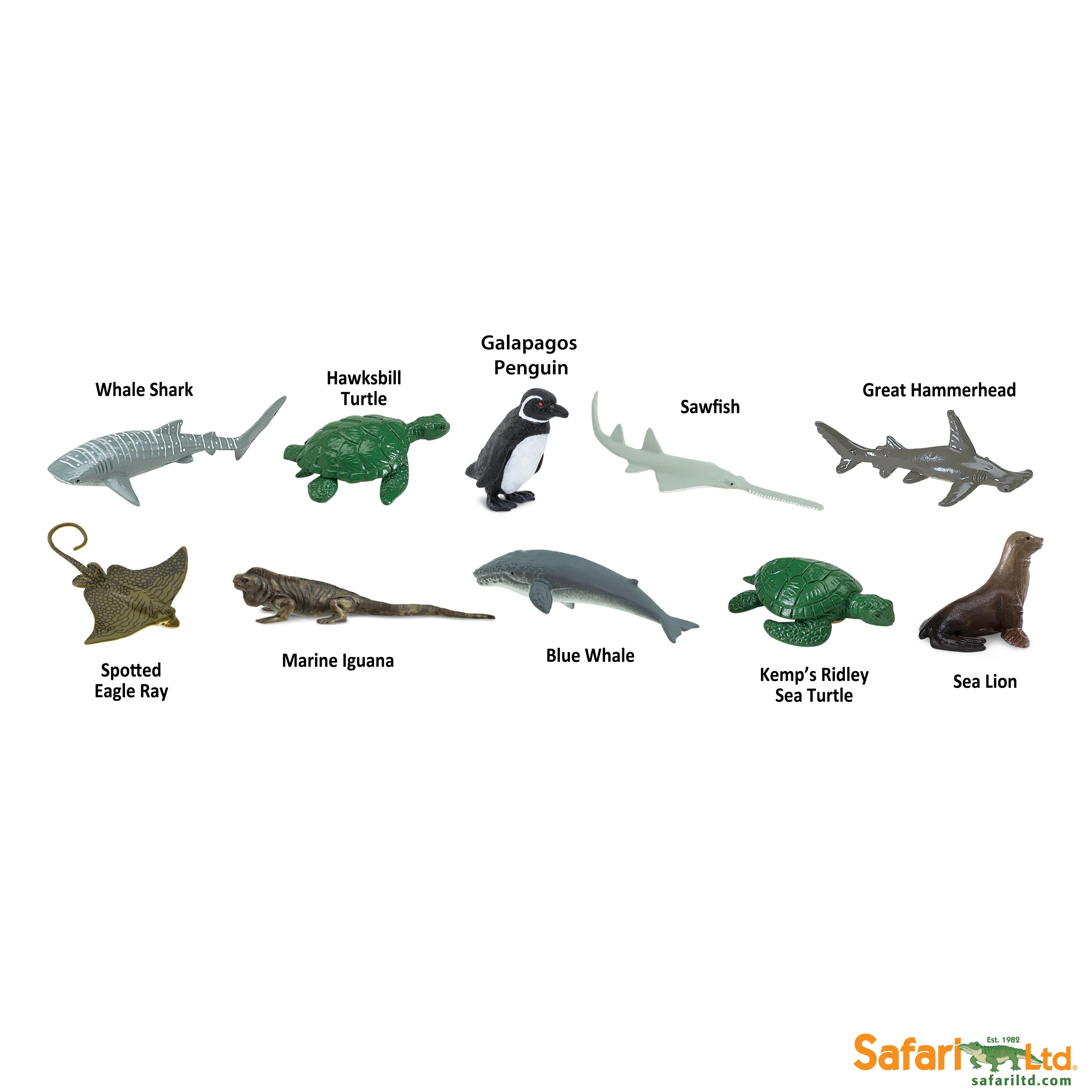 Tuba - Ohrožené druhy - mořské