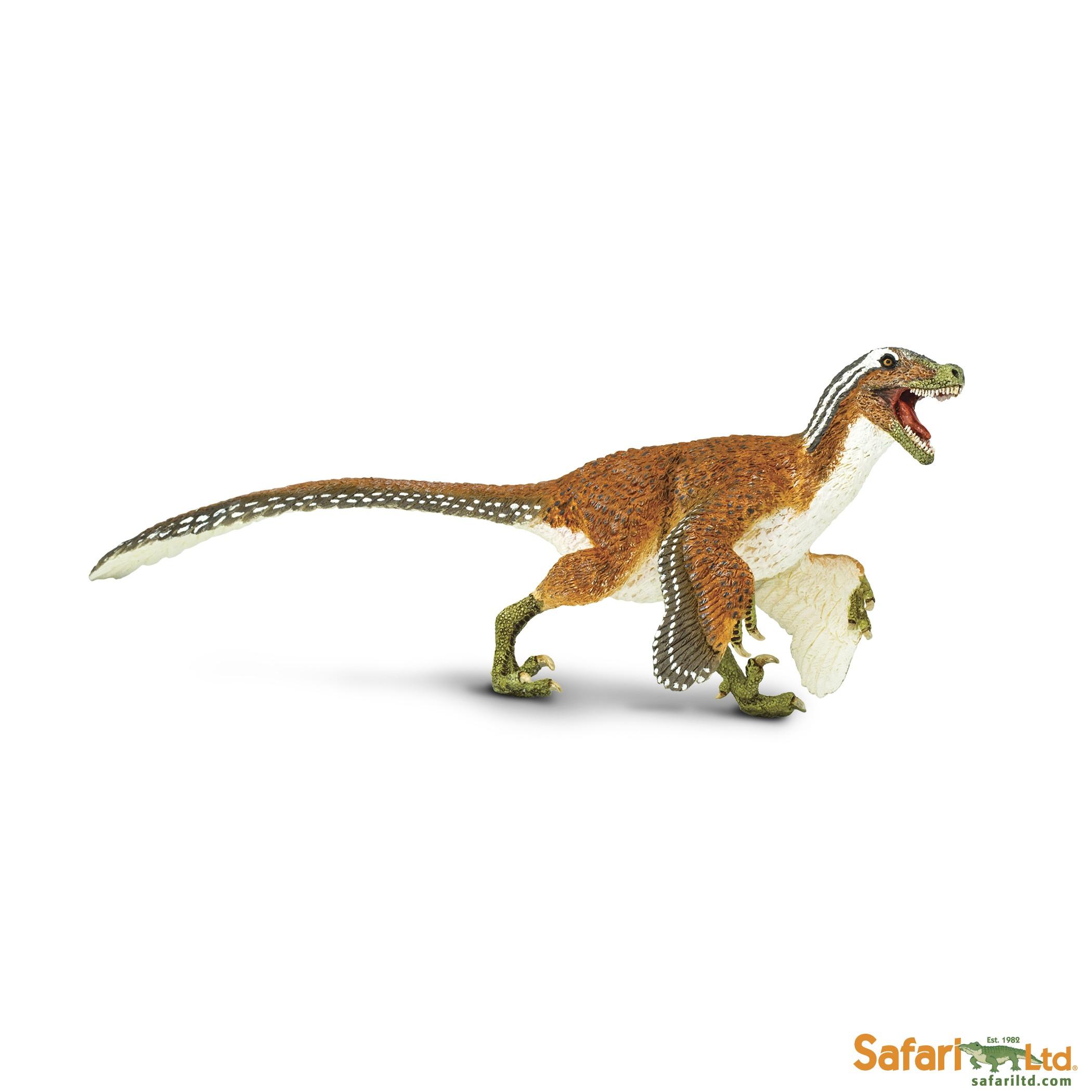 Velociraptor - osrstěný