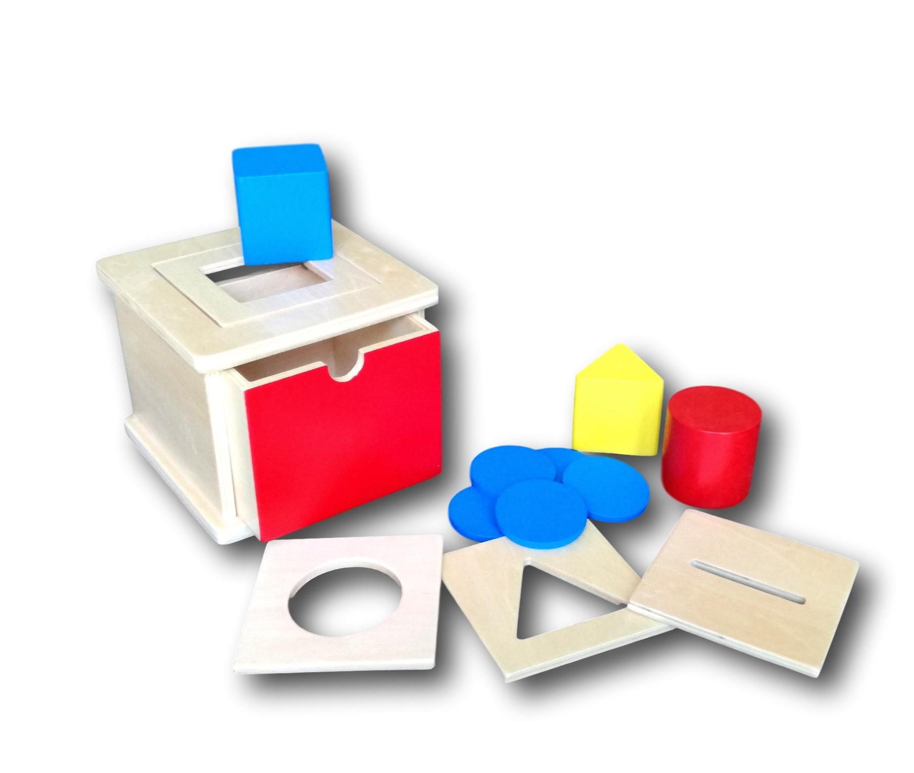 Vyměnitelný box na vkládání