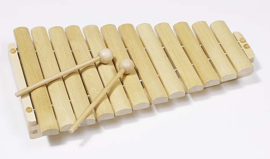 Xylofon dřevěný, 12 tónů