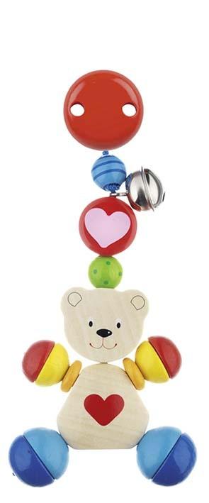 Hračka s klipem - medvídek