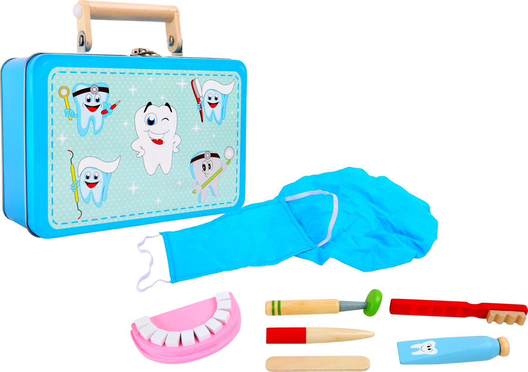 Zubní souprava v kufříku