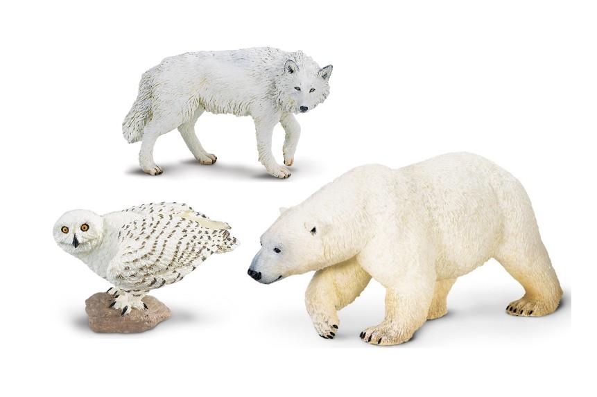 Zvířata ze severu (3 ks)