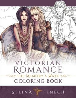 Victorian Romance - The Memory's Wake Coloring Book - Selina Fenech