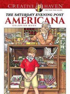 Saturday Evening Post Americana Coloring Book - Marty Noble