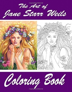 The Art of Jane Starr Weils Coloring Book