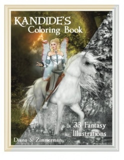 Kandide's Coloring Book - Diana S. Zimmerman