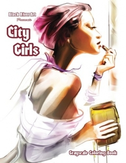 City Girls - Grayscale Coloring Book - Karlon Douglas