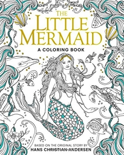 The Little Mermaid: A Coloring Book - Edmund Dulac