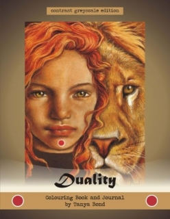Duality - Colouring Book and Journal - Tanya Bond