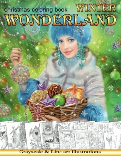 Winter Wonderland. Christmas Coloring Book - Alena Lazareva
