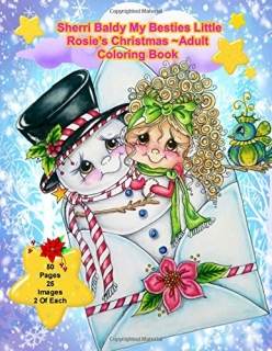 Sherri Baldy My-Besties Little Rosie's Christmas Coloring Book