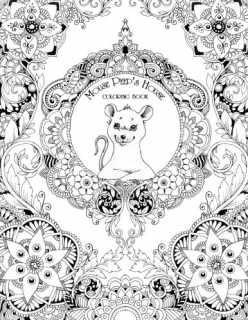 The House of Mouse Peep: Coloring Book - Tatiana Bogema (Stolova)
