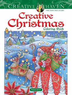 Creative Christmas Coloring Book - Marjorie Sarnat