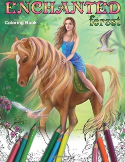 Enchanted Forest Coloring Book - Alena Lazareva