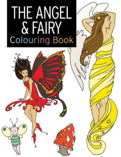 Angel & Fairy Colouring Book - Andělé a víly - Omalovány