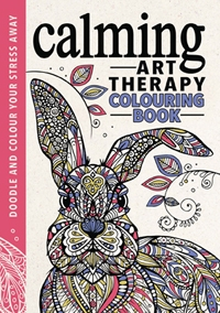 Calming Art Therapy Colouring Book
